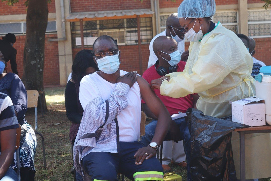 BUSE Vice Chancellor Welcomes COVID-19 Vaccination Programme