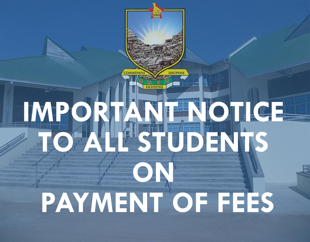 Important  Notice to  All Students on Payment of Fees